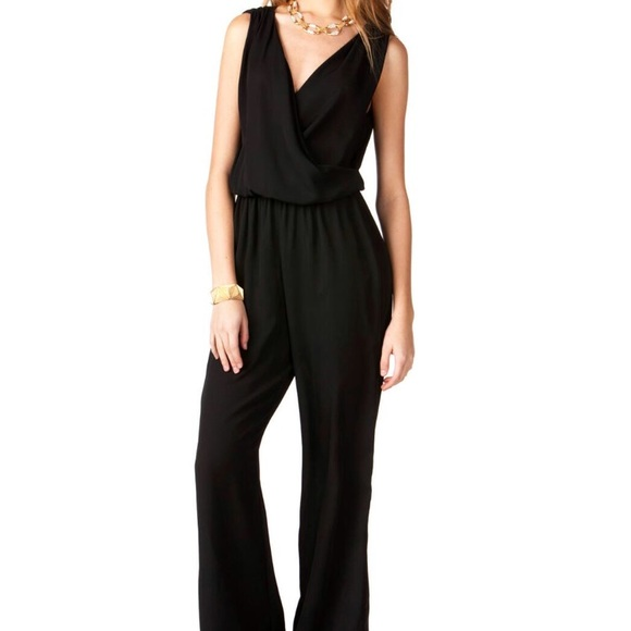 1655620aafd7 Francesca s Collections Pants - Francesca s Collection Harper Black Jumpsuit